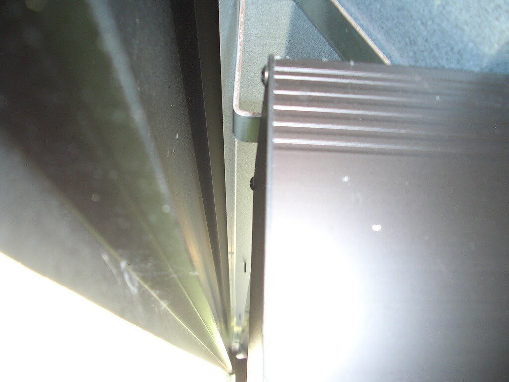 カーポート照明の配線工事(配線経路)