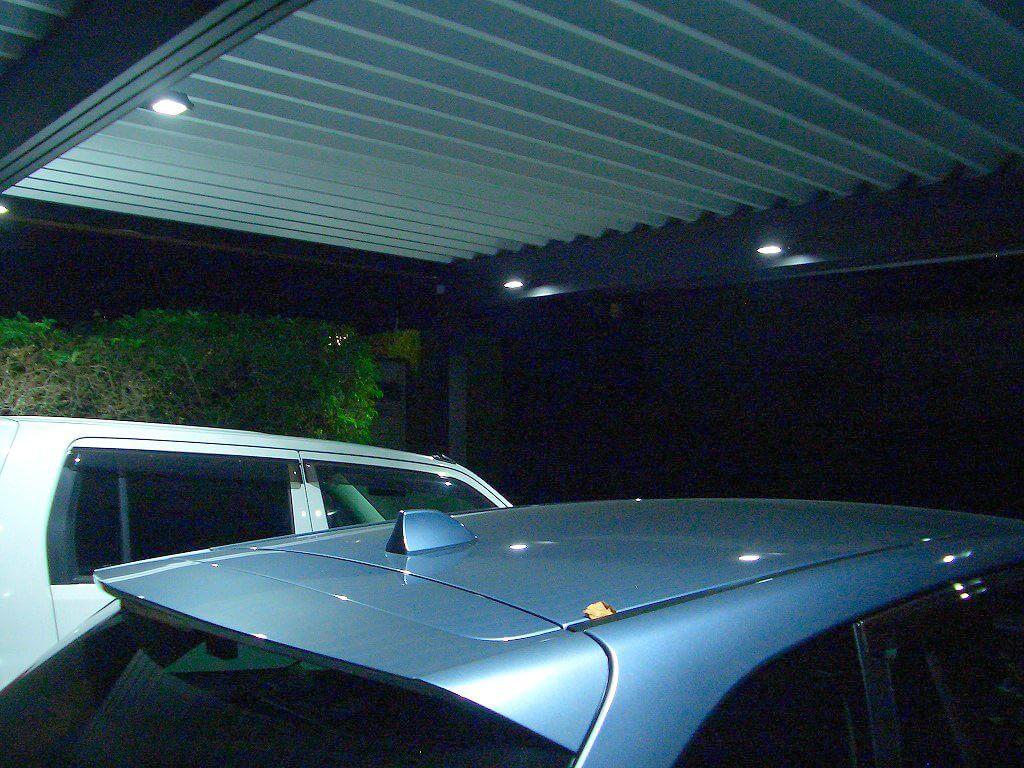 きれいなカーポート照明5